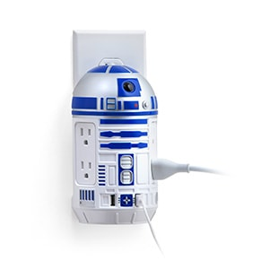 Awesome Star Wars Gifts - R2-D2 AC+USB Power Station