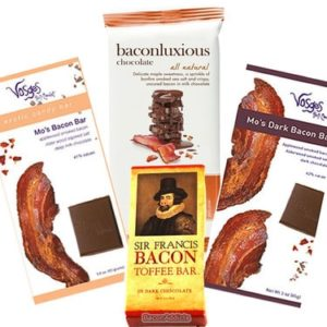 Bacon Gifts - Deluxe Bacon Chocolate Gift Pack