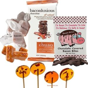 Bacon Gifts - Gourmet Bacon Candy Sampler Gift Pack