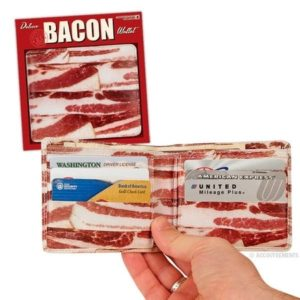 Bacon Gifts for Him - Bacon Wallet