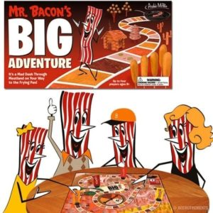 Bacon-Themed Gifts - Mr. Bacon's Big Adventure Board Game