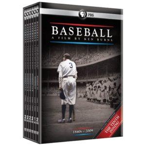 Baseball Gifts - Baseball: A Film by Ken Burns - Special Boxed Set