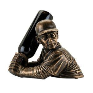 Baseball Gifts - Baseball Player Wine Bottle Holder