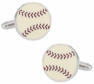 Baseball Gifts for Him - Baseball Cufflinks