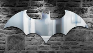 Batman Gifts - Bat Symbol Mirror