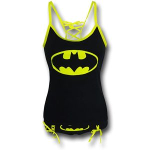 Batman Gifts for Her - Batman Camisole and Panties Set