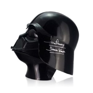 Best Gifts for Star Wars Fans - Autographed Darth Vader Helmet