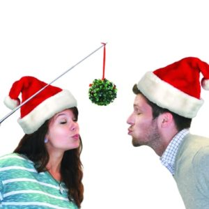 Christmas Gag Gifts - Mistletoe Selfie Stick