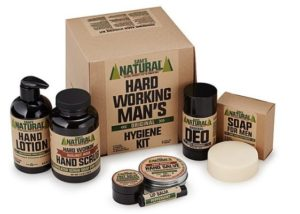 Christmas Gifts for Men - Hard Working Man's Hygiene Kit
