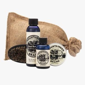 Christmas Gifts for Men - Mountaineer Beard Care Kit