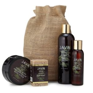 Christmas Gifts for Women - JAVA Coffee-Infused Skincare Body Collection