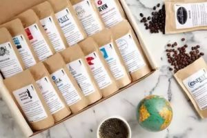 Coffee Gift Boxes - World Coffee Tour Gift Sampler