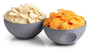 Cool Star Wars Gift Ideas - Death Star Chip and Dip Bowls