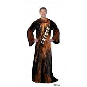 Cool Star Wars Gifts - Chewbacca Snuggie-Style Throw Blanket