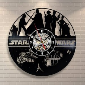 Cool Star Wars Gifts - Star Wars Vinyl Record Wall Clock