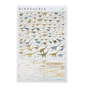 Dinosaur Gifts - Dinosauria Dinosaur Chart