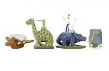Dinosaur Gifts - Kids' Dinosaur Bathroom Accessories Set