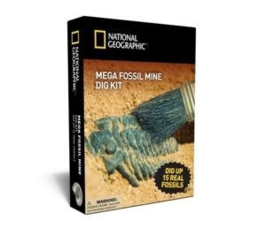 Dinosaur Gifts - National Geographic Mega Fossil Mine Dig Kit