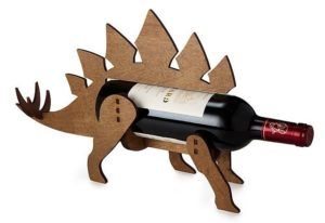 Dinosaur Gifts for Adults - Wine-O-Saur Wine Bottle Holder