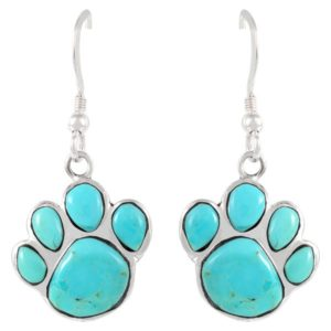 Dog Lover Gifts - Dog Paw Earrings