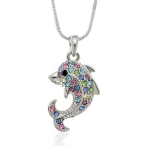 Dolphin Gifts - Dolphin Pendant Necklace