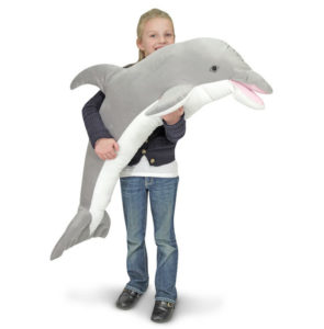 Dolphin Gifts - Giant Lifelike Stuffed Dolphin