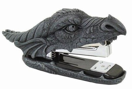 Dragon Gifts - Dragon Stapler