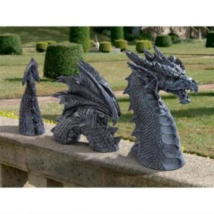 Dragon Gifts - Dragon of Falkenberg Castle Moat Lawn Statue