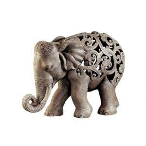 Elephant Gifts - Anjan the Elephant Jali Sculpture