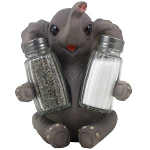 Elephant Gifts - Baby Elephant Salt n Pepper Shaker