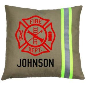 Firefighter Gifts - Personalized Firefighter Pillow