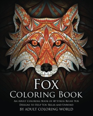 Fox Gifts - Fox Coloring Book