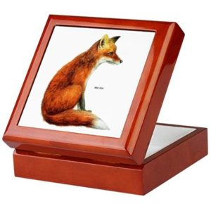 Fox Gifts - Red Fox Jewelry Box