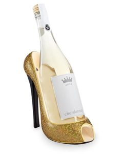 Funny Gifts for Wine Lovers - High-Heel Wine Bottle Holder