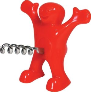 Funny Gifts for Wine Lovers - Sir Perky Novelty Corkscrew