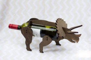 Funny Wine Gifts - Wine-O-Saur Wine Bottle Holder