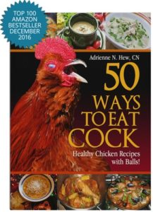 "Gag Gift Ideas - ""50 Ways to Eat Cock"" Cookbook"