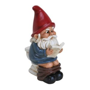 Gag Gifts - Gnome on a Throne