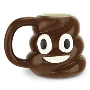 Gag Gifts - Poop Emoji Mug