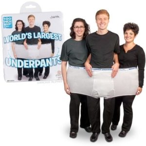Gag Gifts - World's Largest Underpants