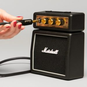Gift Ideas for Guitar Players - Marshall Mini-Amp