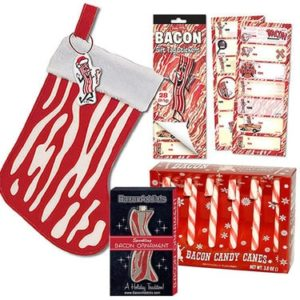 Gifts for Bacon Lovers - Bacon Christmas Holiday Sampler Gift Pack