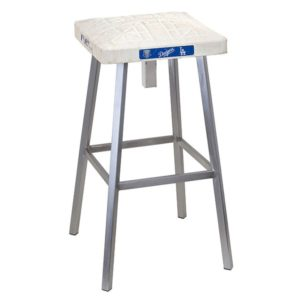 Gifts for Baseball Fans - Game-Used Base Barstool