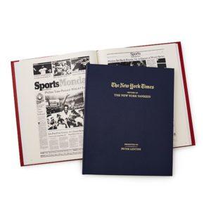 Gifts for Baseball Fans - New York Times Custom Baseball Book