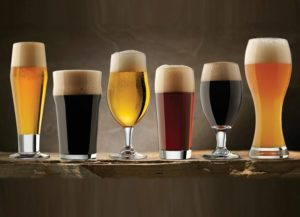 Gifts for Beer Lovers - Set of Craft Brew Beer Glasses