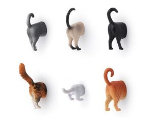 Gifts for Cat Lovers - Cat Butt Magnets