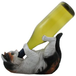 Gifts for Cat Lovers - Drinking Kitty Wine Bottle Holder