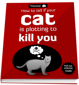 Gifts for Cat Lovers - How to Tell If Your Cat Is Plotting to Kill You