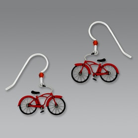 Gifts for Cyclists - Bicycle Earrings