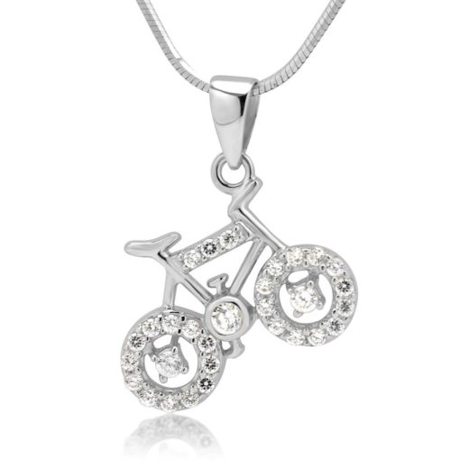 Gifts for Cyclists - Bicycle Pendant Necklace